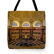 Library Of Congress Main Reading Room Tote Bag