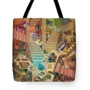 Library Of The Mind Tote Bag