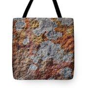Lichen On Sandstone Tote Bag