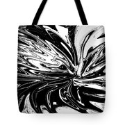 Licorice In Abstract Tote Bag