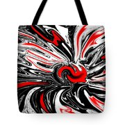 Licorice With Red Cherry Tote Bag