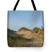 Lieutenant Island Dunes Tote Bag