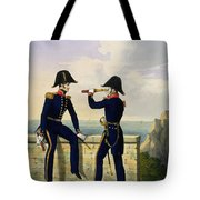 Lieutenants, Plate 1 From Costume Tote Bag