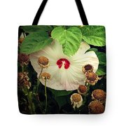 Life And Death In The Garden Tote Bag