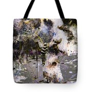 Life And Death On The River Of Rocks Trail Tote Bag