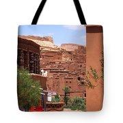 Life At Ait Ben Haddou 2 Tote Bag
