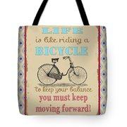 Life-bicycle Tote Bag