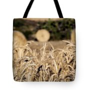 Life Cycle Of Wheat - Harvesting Tote Bag