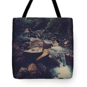 Life Flows On Tote Bag