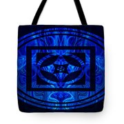 Life Force Within Abstract Healing Artwork Tote Bag