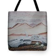 Life From Death In The Desert Tote Bag