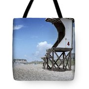 Life Guard Station Tote Bag