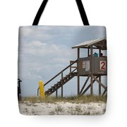 Life Guards On Duty Tote Bag