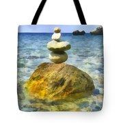 Life In Balance Tote Bag
