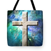 Life In Blue Tote Bag