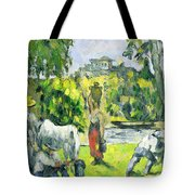 Life In The Fields Tote Bag