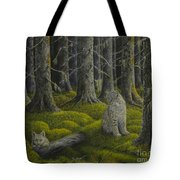 Life In The Woodland Tote Bag
