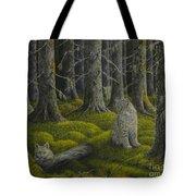 Life In The Woodland Tote Bag by Veikko Suikkanen