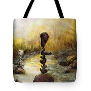 Life Is A Balancing Act Tote Bag