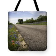 Life Is A Highway  Tote Bag by Lynn Bauer