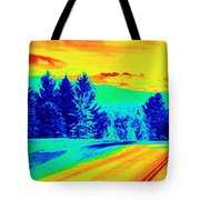 Life Is A Highway Tote Bag