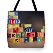 Life Is A Shipwreck But We Must Remember To Sing In The Lifeboats Tote Bag