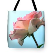 Life Is All Roses And Blue Sky Tote Bag