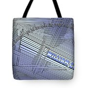 Life Is Material Tote Bag