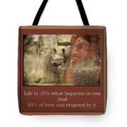 Life Is Moments Of Camouflage Tote Bag