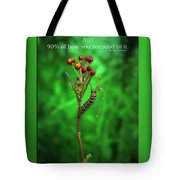 Life Is Slow And Steady Tote Bag