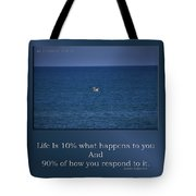 Life Is Soaring Solo Sometimes Tote Bag