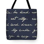 Life Matters Tote Bag