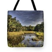 Life On The Marsh Tote Bag