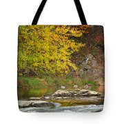 Life On The River Tote Bag by Bill Wakeley