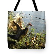 Life On The Water With Mom  Tote Bag