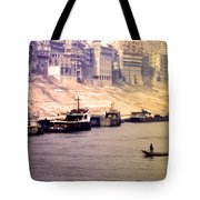 Life On The Yangte  Tote Bag