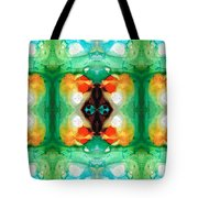 Life Patterns 1 - Abstract Art By Sharon Cummings Tote Bag