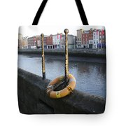 Life Saver -  Swiffey River - Dublin Ireland Tote Bag