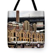 Life Under The Bridge Tote Bag