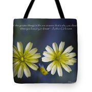 Life Unseen Tote Bag