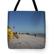 Lifeguard On Siesta Key Tote Bag