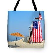 Lifeguard 9-11 Tribute Tote Bag