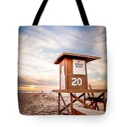Lifeguard Tower 20 Newport Beach Ca Picture Tote Bag