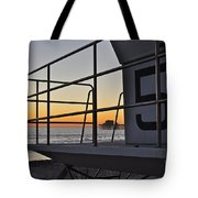 Lifeguard Tower 5  Tote Bag