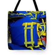 Lifejackets Tote Bag