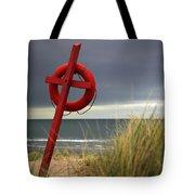 Lifesaver On The Beach Tote Bag