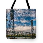Lift Bridge 3d21789 Tote Bag