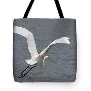Lift Off - Egret 2013 Tote Bag