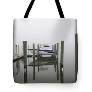 Lifted Up Into The Fog Tote Bag