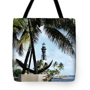 Light And Anchor Tote Bag